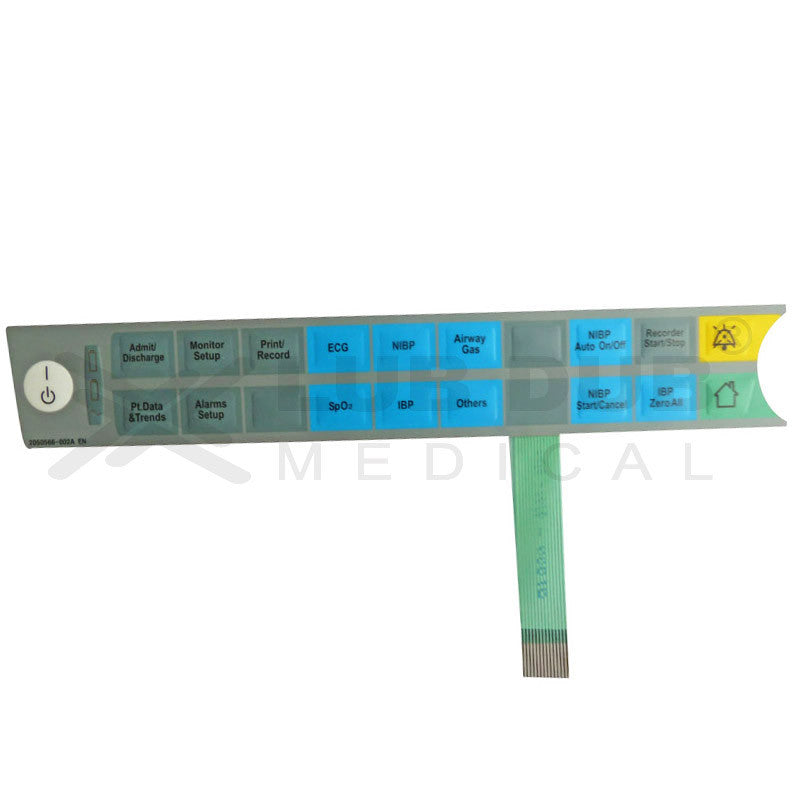 Keypad compatible with GE B20 Patient Monitor