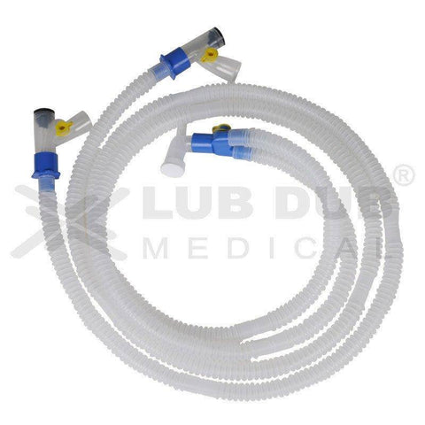 Disposable Ventilator Circuit  Adult Double Heated