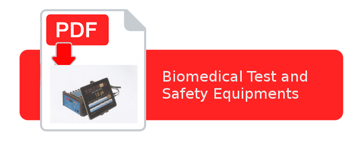 Biomedical Test and Safety Equipments