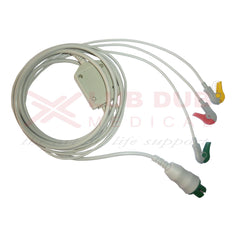 3 Lead ECG Cable Compatible with Siliconlab