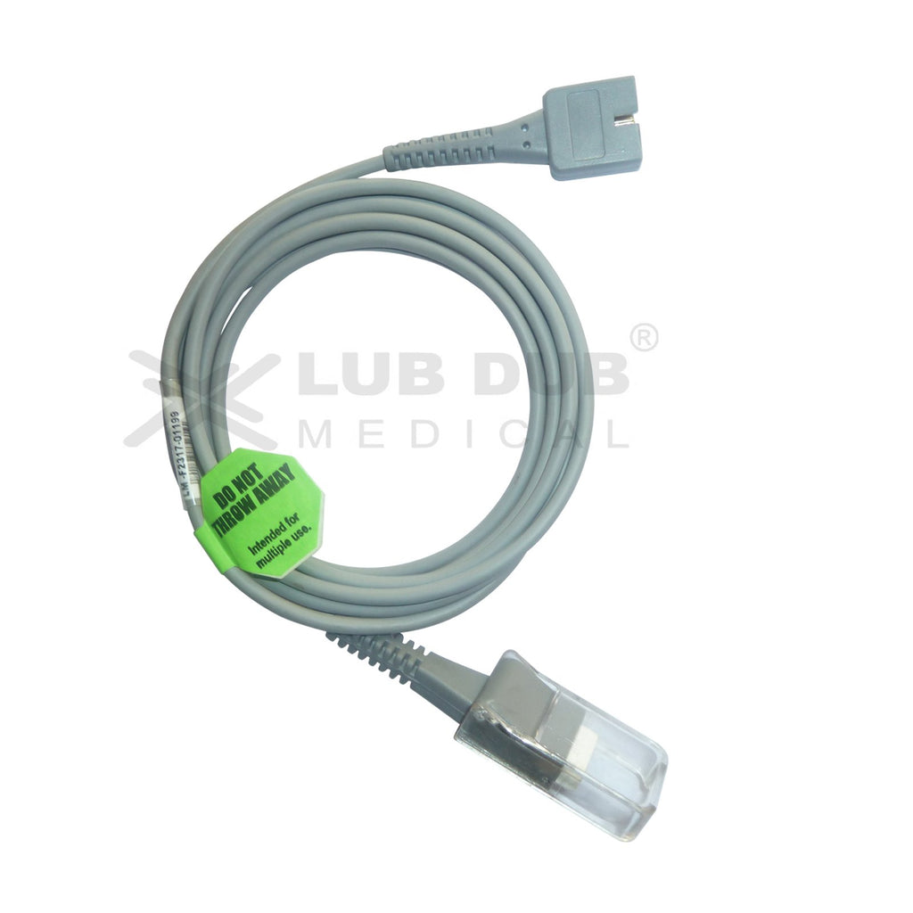 Spo2 Extension Cable Compatible with Welchallyn DB9 H to DB9