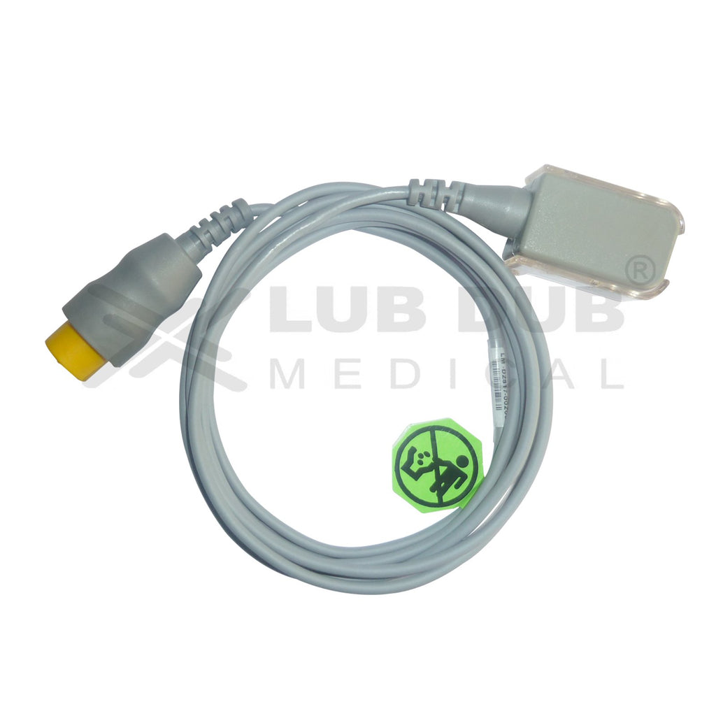 Spo2 Extension Cable Compatible with  L&T  Planet / Planet 50/star 50/Planet 40 12 pin