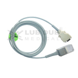 Spo2 Extension Cable Compatible with Nellcor 3m Connector OS