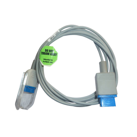 Spo2 Extension Cable Compatible with Nihon Kohden 14 Pin