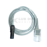 Spo2 Extension Cable Compatible with Lifeplus Datex Ohmeda Connector