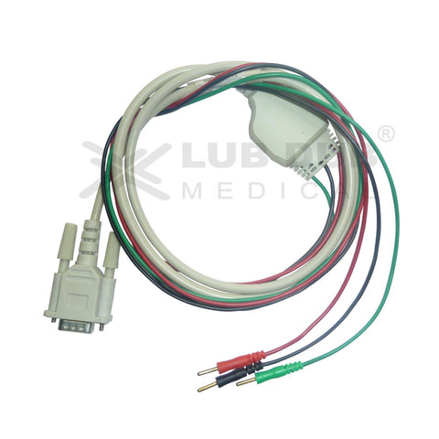 3 Lead ECG Cable Compatible with Kaya