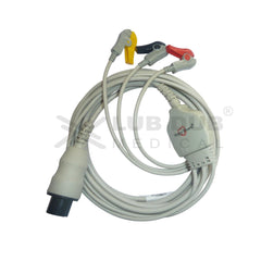 3 Lead ECG Cable Compatible with mindray