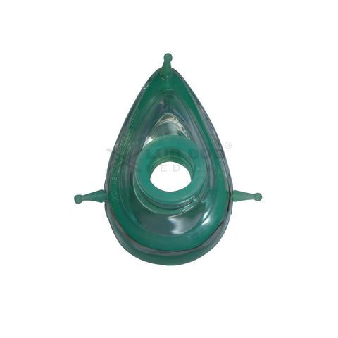 Reusable Silicon Mask Size - 5 (Green)