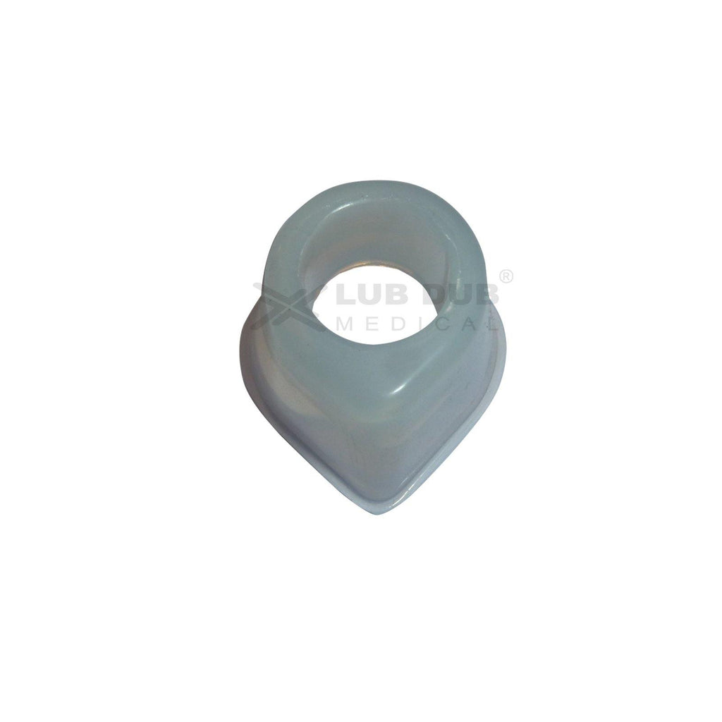 Reusable Silicon Mask Size - 000 (Transparent)