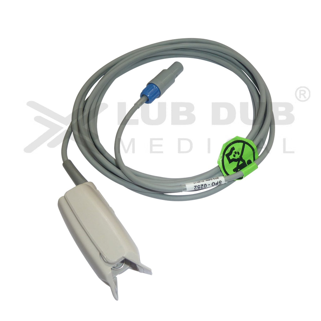 Spo2 Adult 3 Mtr Probe Compatible with  Aspen 6 Pin S/n Clip type