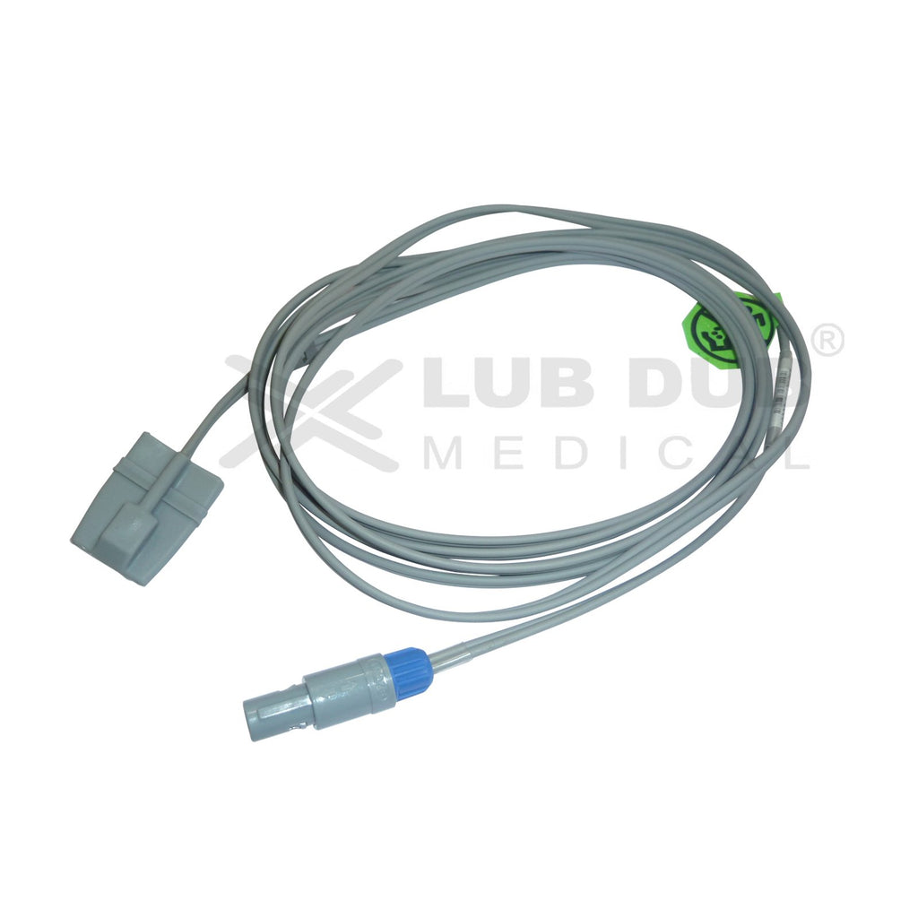 Spo2 Pediatric  3 Mtr Probe Compatible with RMS / BPL Clear Sign 6 Pin S/n Rubber type