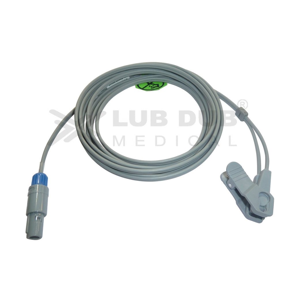 Spo2  Neonatal 3 Mtr Probe Compatible with BLT 5 Pin S/n Y type