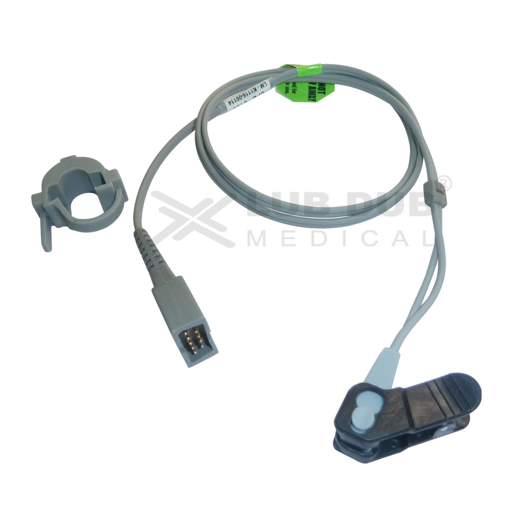 Spo2 Y 0.9 Mtr Probe Compatible with Digital / BLT / Schiller TS II / BPL Excelo / Contec/chinese/Browndove