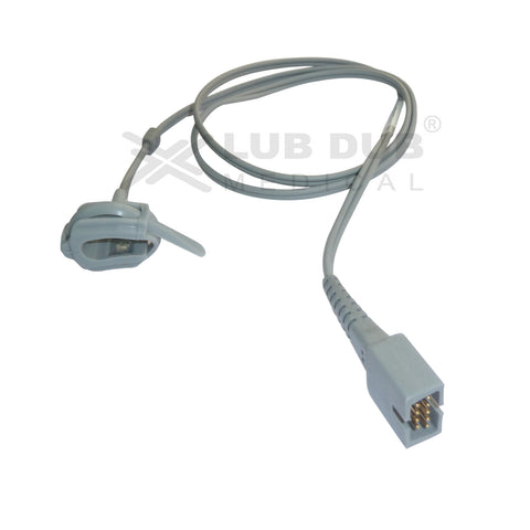Spo2 Neonatal 0.9 Mtr Probe Compatible with chinese/contec/digital/schiller/BPL/Browndove Rubber type