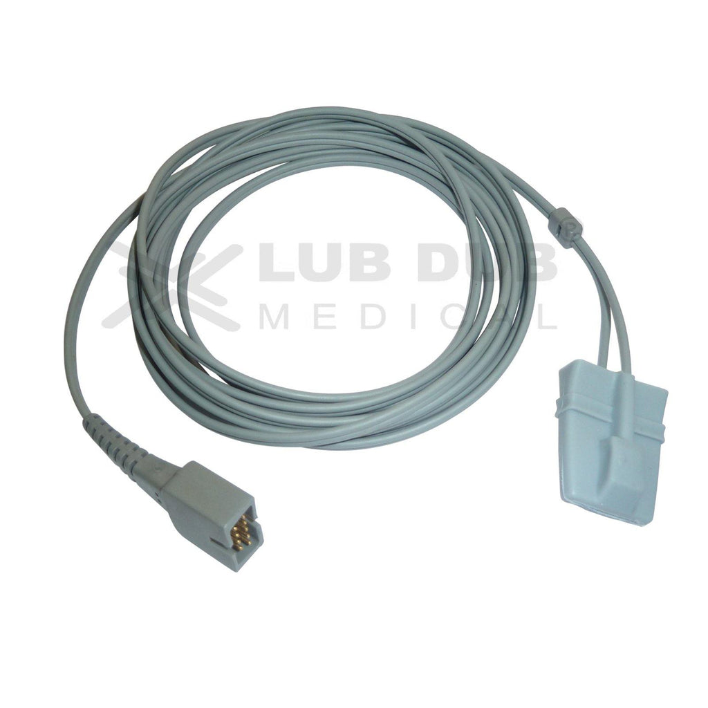 Spo2 Pediatric  3 Mtr Probe Compatible with Nellcor / Clarity DB9 Os Rubber type
