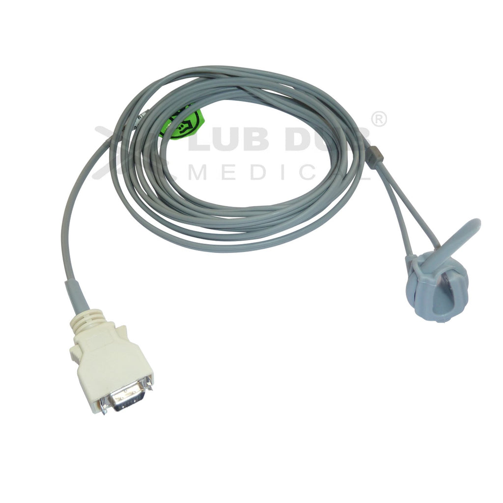 Spo2 Neonatal 3 Mtr Probe Compatible with Dolphin 3m connector Rubber type