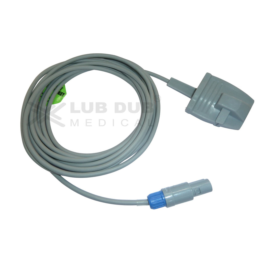 Spo2 Adult  3 Mtr Probe Compatible with Kopran 6 Pin S/n Rubber type