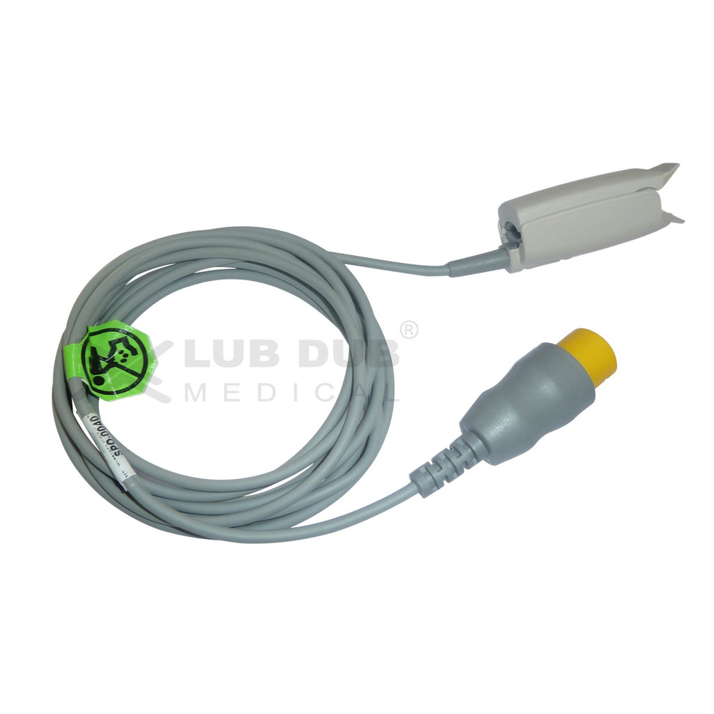 Spo2 Adult 3 Mtr Probe Compatible with MEK 8 Pin clip type