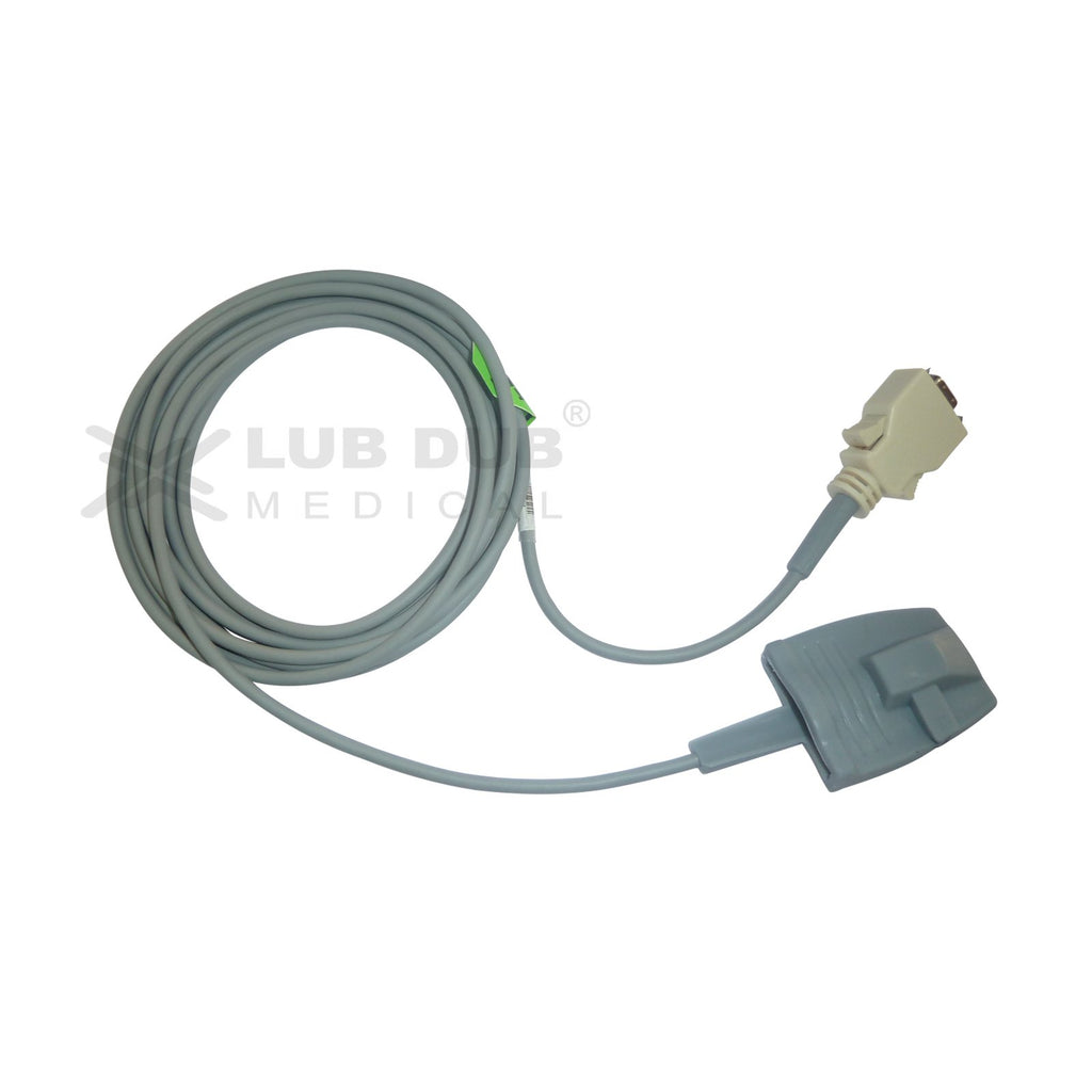 Spo2 Adult  3 Mtr Probe Compatible with Masimo 3m Connector Rubber type