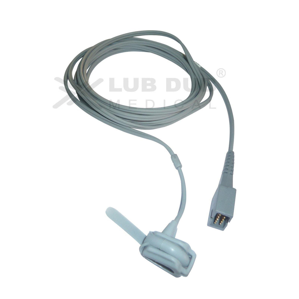 Spo2 Neonatal 3 Mtr Probe Compatible with Nonin DB9 Rubber type
