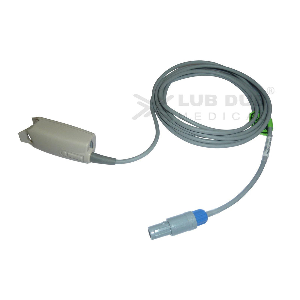 Spo2 Adult 3 Mtr Probe Compatible with Nidek 6 Pin D/n clip type