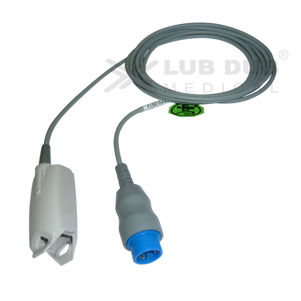 Spo2 Adult 3mtr Probe Compatible with Xincare 6 Pin clip type