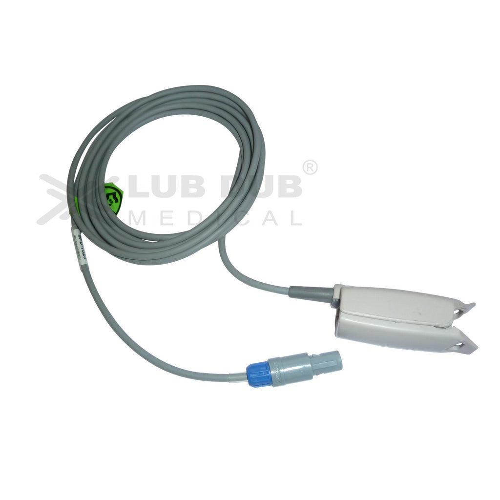 Spo2 Adult 3 Mtr Probe Compatible with Welcare/Uniem 6 Pin S/n Digital clip type