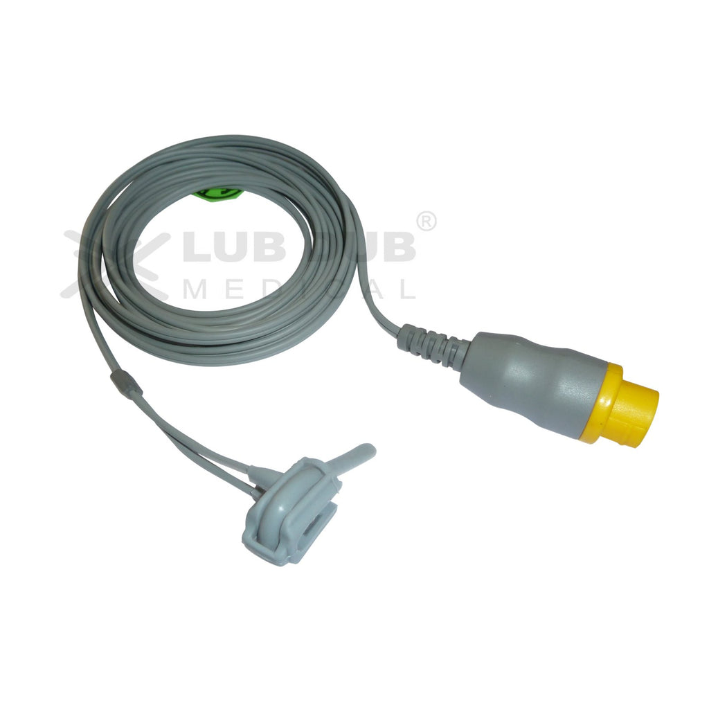 Spo2 Neonatal 3 Mtr Probe Compatible with L&T Planet 50 12 Pin (7) Rubber type