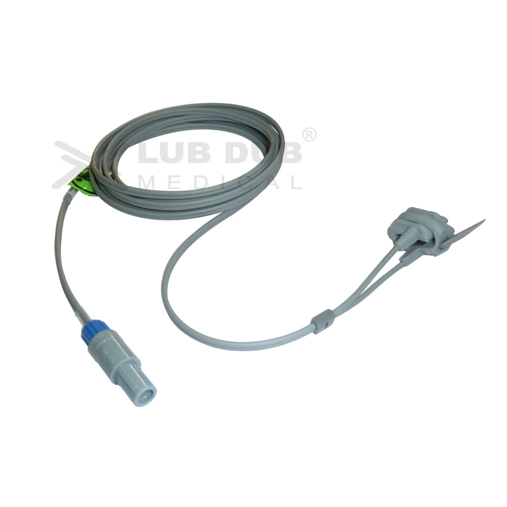 Spo2 Neonatal 3 Mtr Probe Compatible with Schiller Truscope II 7 Pin S/n Rubber type