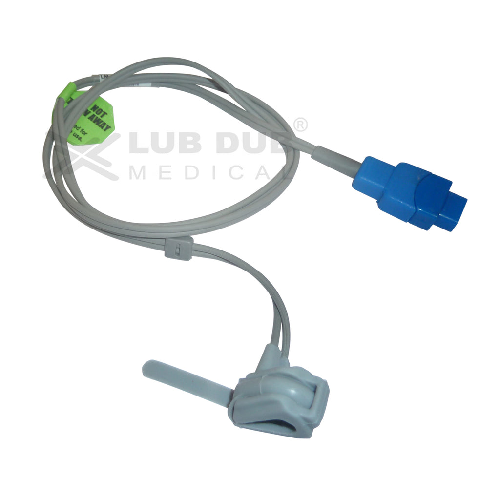 Spo2 Neonatal 0.9 Mtr Probe Compatible with GE Trusignal Rubber type
