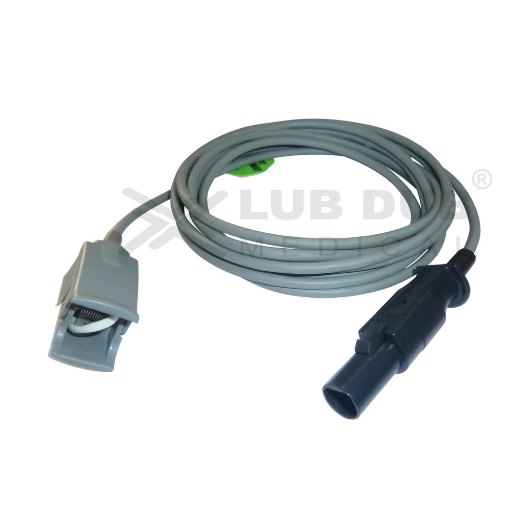 Spo2 Pediatric  3 Mtr Probe Compatible with Datexohmeda 7 Pin Clip type