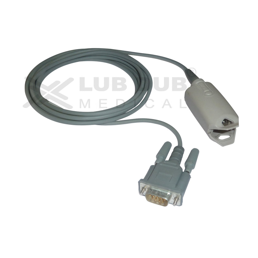 Spo2 Adult 3 Mtr Probe Compatible with BCI DB9 Metal Clip type
