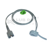 Spo2 Neonatal 0.9 Mtr Probe Compatible with Nellcor /HP/Mediaid/Emco/Allengers/Mindray/Nasan/Solaris/Siliconlabs/L&T/Edan/Nellcor Os Rubber type