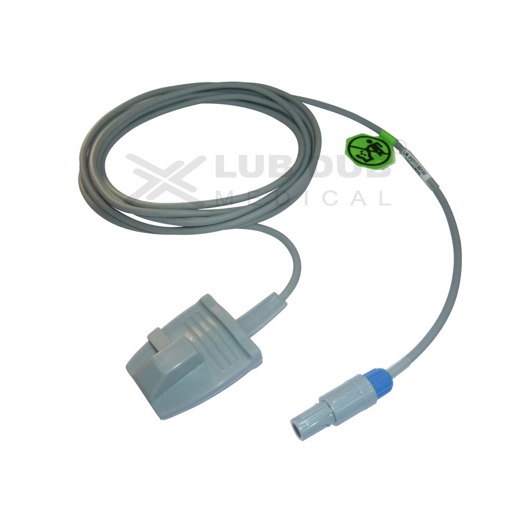 Spo2 Adult  3 Mtr Probe Compatible with Mindray  /Blue Star/ /Uniem/Edan / Lifeplus/Mediaid/ Mindray/Datascope/Aspen II/Nassan/ Drager/kopran/lifeplus 6 Pin D/n Rubber type