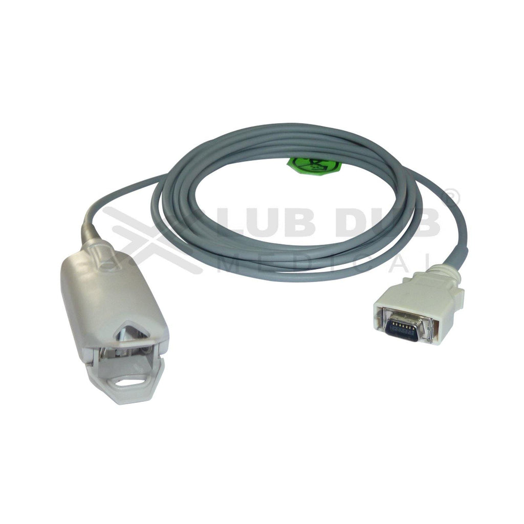 SPO2 Adult 3 Mtr Probe Compatible with Nellcor Oom 3m Connector clip type
