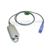 Spo2 Adult 0.9 Mtr Probe Compatible with spacelab/L&T/Nellcor Oom Clip type