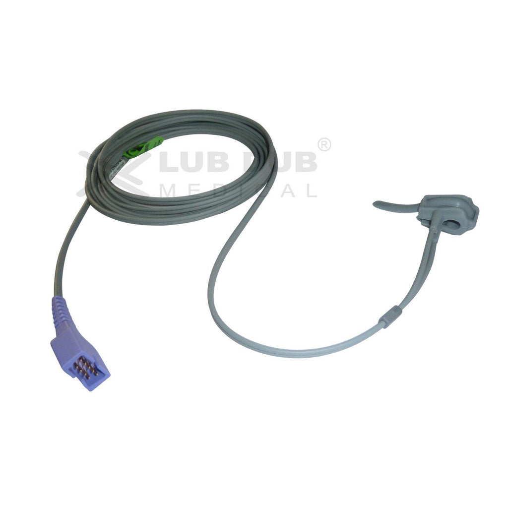 Spo2 Neonatal 3 Mtr Probe Compatible with Nellcor Om DB9 Rubber type