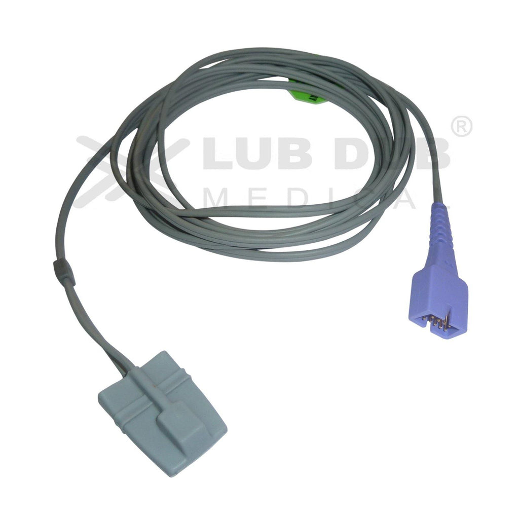 SPO2 Pediatric  3 Mtr Probe Compatible with Nellcor Om DB9 Rubber type