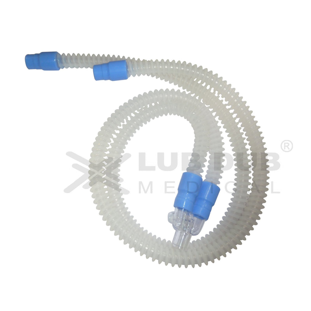 Reusable Adult 2 Limb Circuit  (joint less 1.2mtrs) Oxiboy