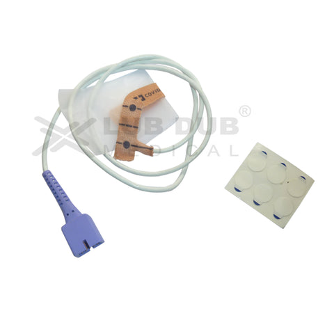 Spo2 Disposable Adult/neonatal 0.9 Mtr Probe Compatible with Nellcor Os