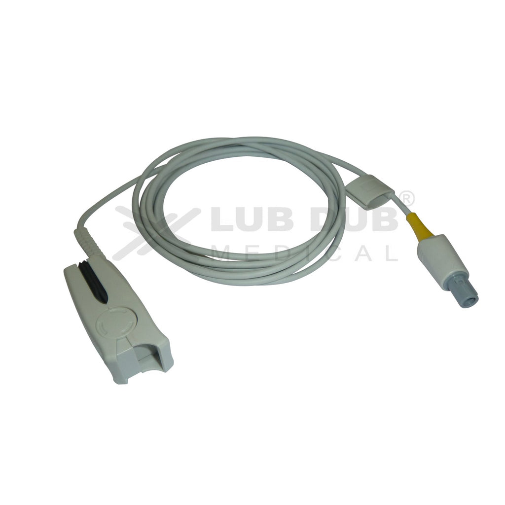 Spo2 Adult 3 Mtr Probe Compatible with Contec 5 Pin (T) clip type