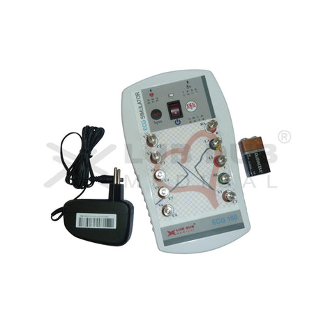 ECG Simulator/ ECG 150 with Accessories (Adaptor and Battery)