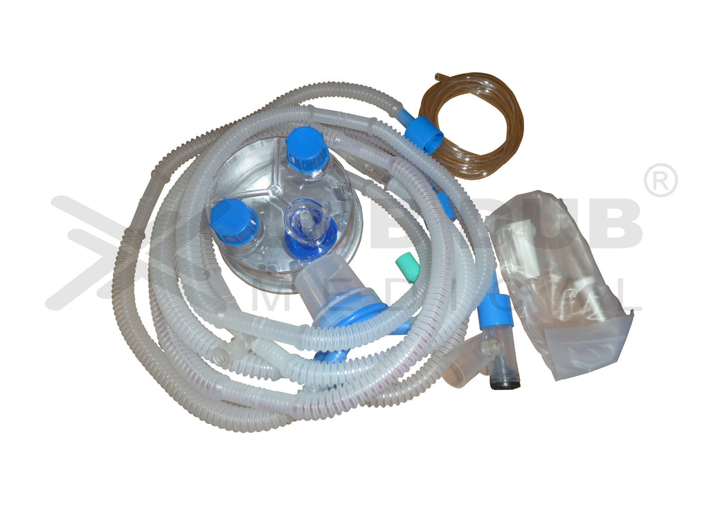 Disposable ventilator circuit SLE 2000 with chamber