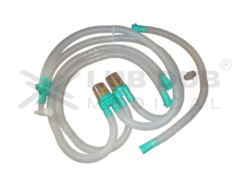 Disposable Ventilator Circuit Adult D.W.T Green