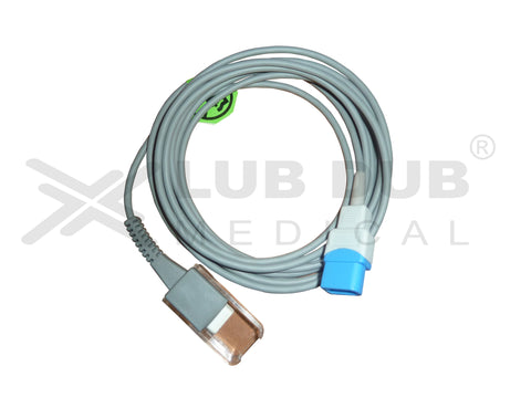 Spo2 Extension Cable Compatible with Spacelabs 10 Pin OS