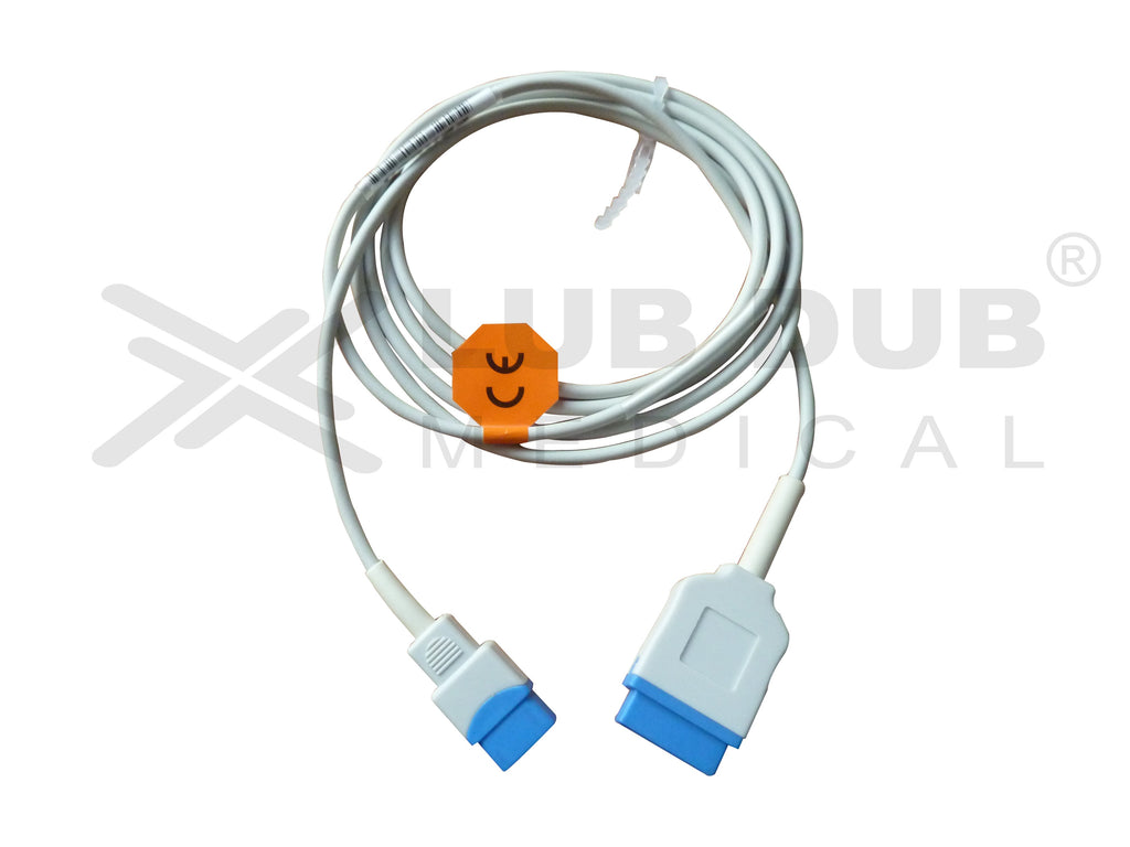 Spo2 Extension Cable Compatible with GE B20 11Pin (Trusignal Female) (T)