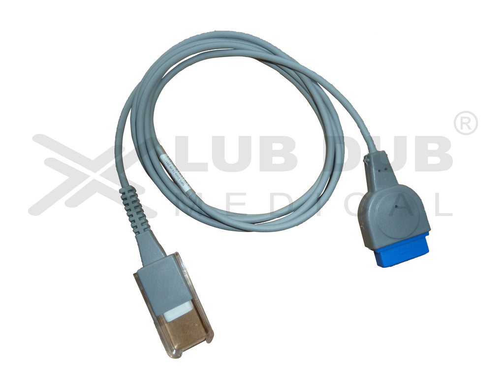 Spo2 Extension Cable Compatible with GE Dash 4000 Oxismart XL 11 pin