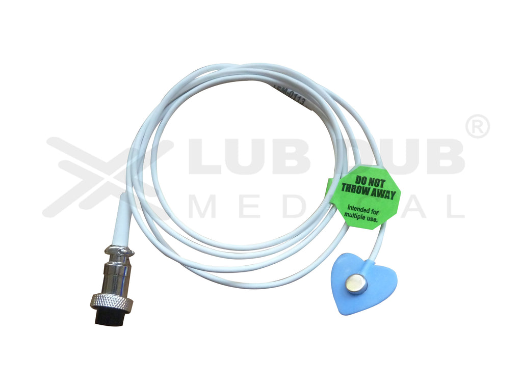 Temperature Probe Compatible with Radiant Heat Warmer 3 Pin - Skin