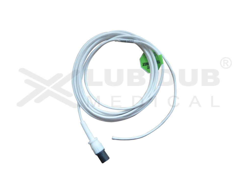 Temperature Probe Compatible with Rectal HP 2 Pin