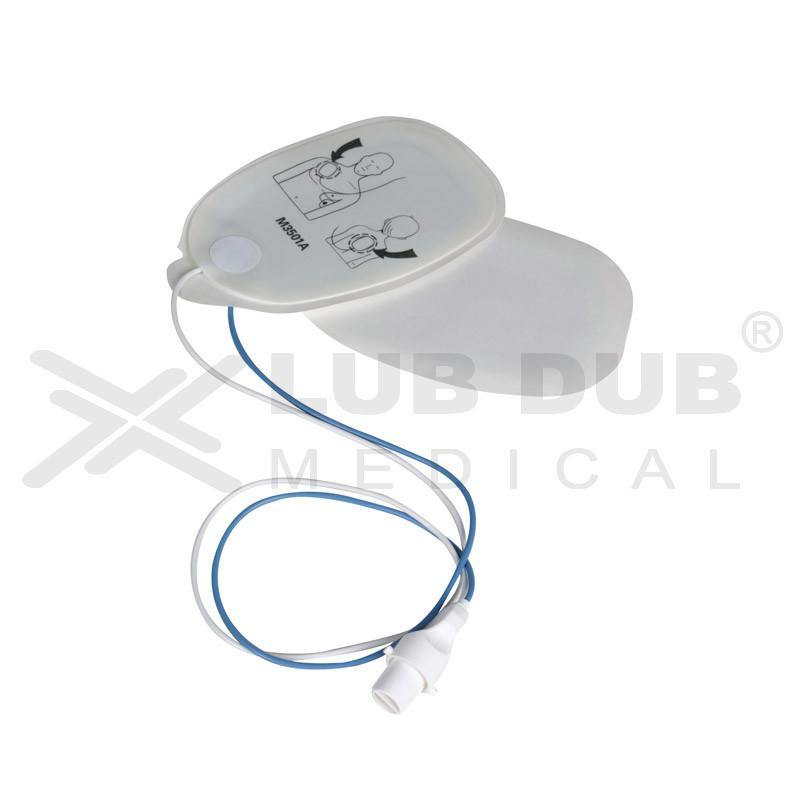 Disposable Pacing Pad for Philips / Hp Code master (Compatible)